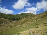 Unser Weiterweg Richtung Erlacher Bockhütte
