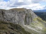 Die Zunderwand (vom Abstieg Richtung Feldhütte)