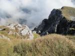 Tiefblick vom Schneeberg