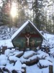 Vor zwei Jahren stand das Kreuz noch im Freien