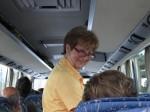 Reiseleiterin Rosa Hren