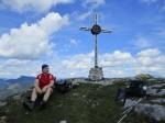 Günter am Spielkogel-Gipfel