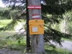 Ob da wirklich noch ein Briefträger hinkommt? (Unt. Haselboden)
