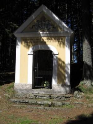 Kapelle an der Hochwechsel-Straße