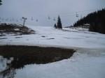 Nicht mehr viel Schnee am Niederalpl