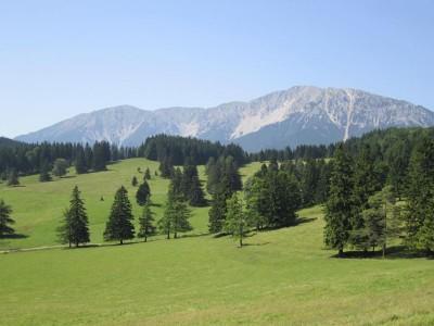 Schneeberg von der Schoberalm