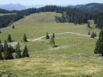 Tiefblick vom Breimauer-Gipfel