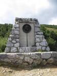 Denkmal für Dr. Fritz Benesch, den Erschließer von Rax und Schneeberg