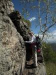 Aufstieg auf die Hirschwand