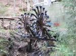 Wasserrad (leider nicht in Betrieb)