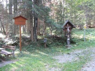 Lendkreuz (Ausgangspunkt unseres Weges)