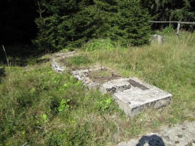 Fundamente der Kohlenseilbahn