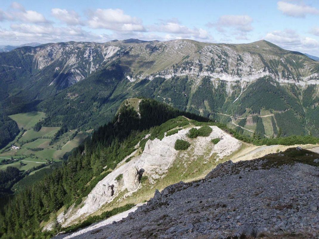 Klettersteig Rax : Karls touren archiv rax heukuppe