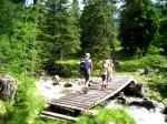 Wanderweg knapp vor der Grafenbergalm