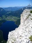 Trisselwand Gipfel mit Altausseersee