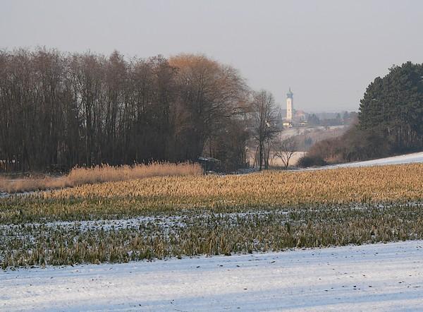 Lanzatal mit Blick nach Mistelbach